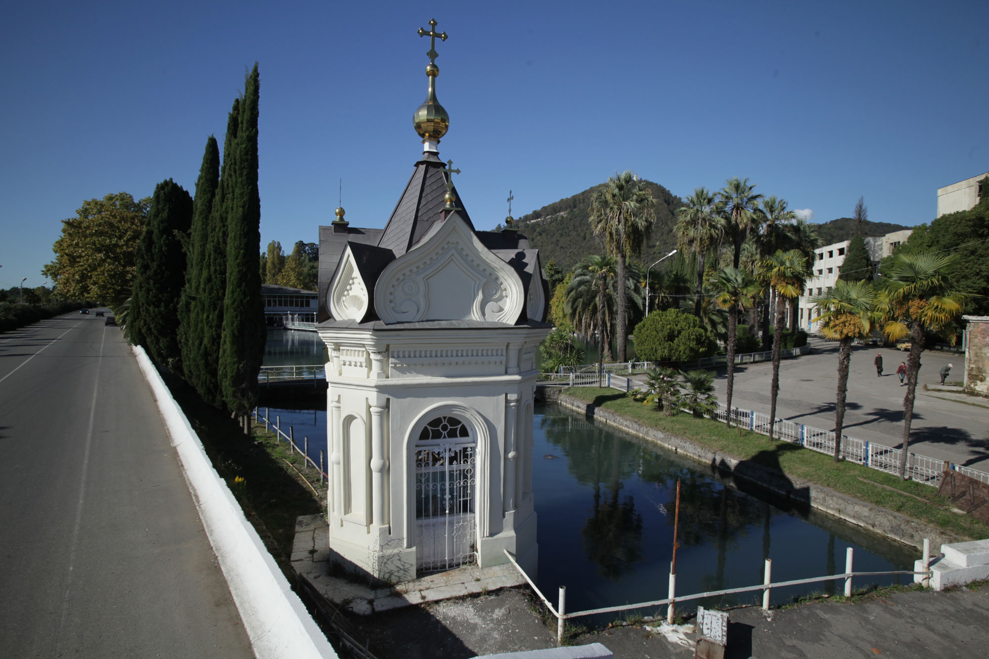 новый афон храм